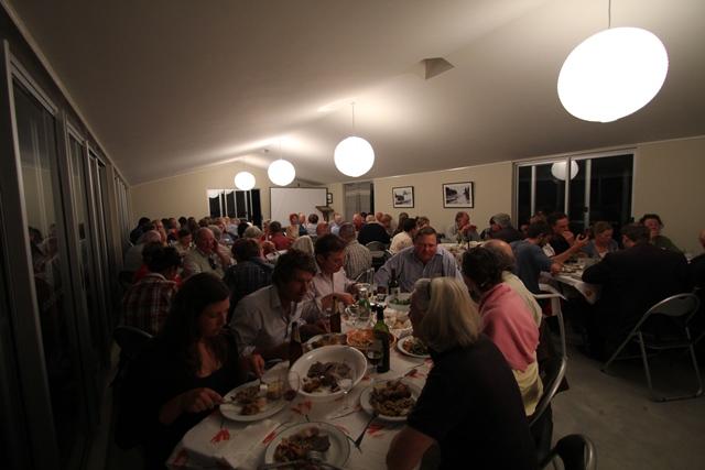 Full House for Landcare Dinner