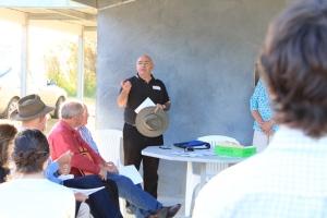 Weclome to Country Ngambri Aboriginal Elder Shane Mortimer