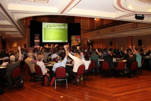 """Hands up if you belong to a Landcare Group"""