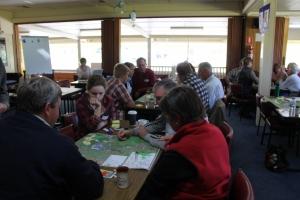 at Hovells Creek Landcare Action planning workshop in 2013