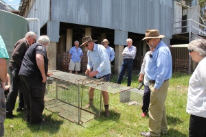 at one of the Grabine Foggs Crossing workshops
